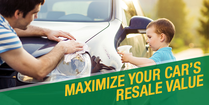 HOW DO YOU RETAIN YOUR CAR'S MAXIMUM RESALE VALUE?