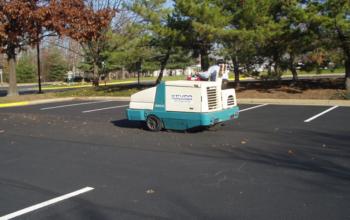 car park sweeping