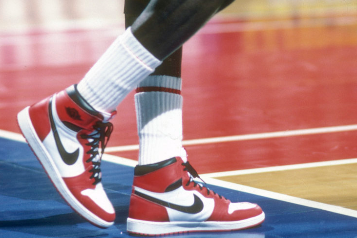 Rare Michael Jordan sneakers sold for $6,15,000 in an auction